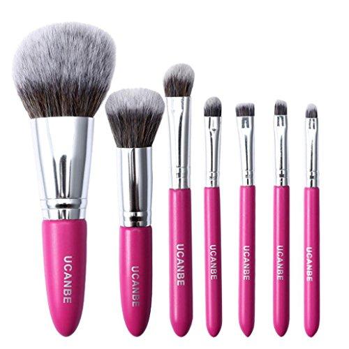 RNTOP 7 Pcs Makeup Brush Set Professional Face Cosmetics Ble
