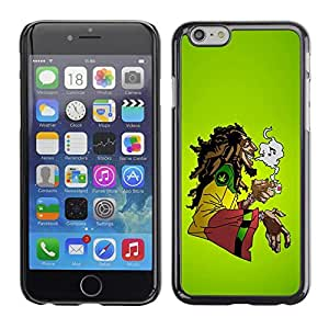 Impact Case Cover with Art Pattern Designs FOR Apple Iphone 6 Plus 5.5 Cool Music 420 Marijuana Rasta Betty shop