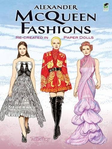 Alexander McQueen Fashions: Re-created in Paper Dolls (Dover Paper - Alexander Mcqueen Buy