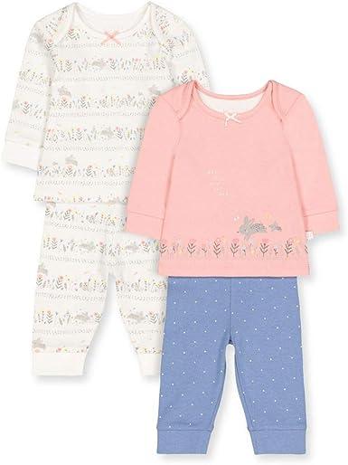 Mothercare Io G Lovely Bunny 2pk PJ Conjuntos de Pijama ...