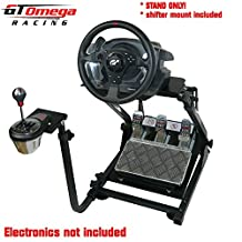 GT Omega Steering Wheel stand suitable For Thrustmaster T500 RS Force Feedback wheel & TH8A Shifter PRO