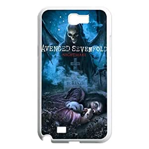 Avenged Sevenfold Nightmare Music Poster Print Back Design Case for Samsung Galaxy S5 I9600