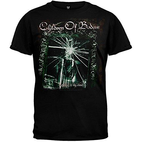 Children Of Bodom - Mens Mirror Frame T-shirt Small Black