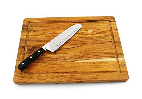 (Cutting Boards Teak Medium Cutting Board 16 x 12 x 0.75)