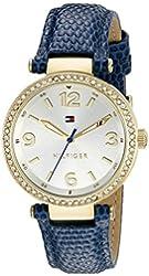 Tommy Hilfiger Women's 1781587 Analog Display Quartz Blue Watch