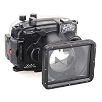 EACHSHOT 40m/130ft Underwater Diving Camera Housing for Fujifilm X-A1 (16-50mm )