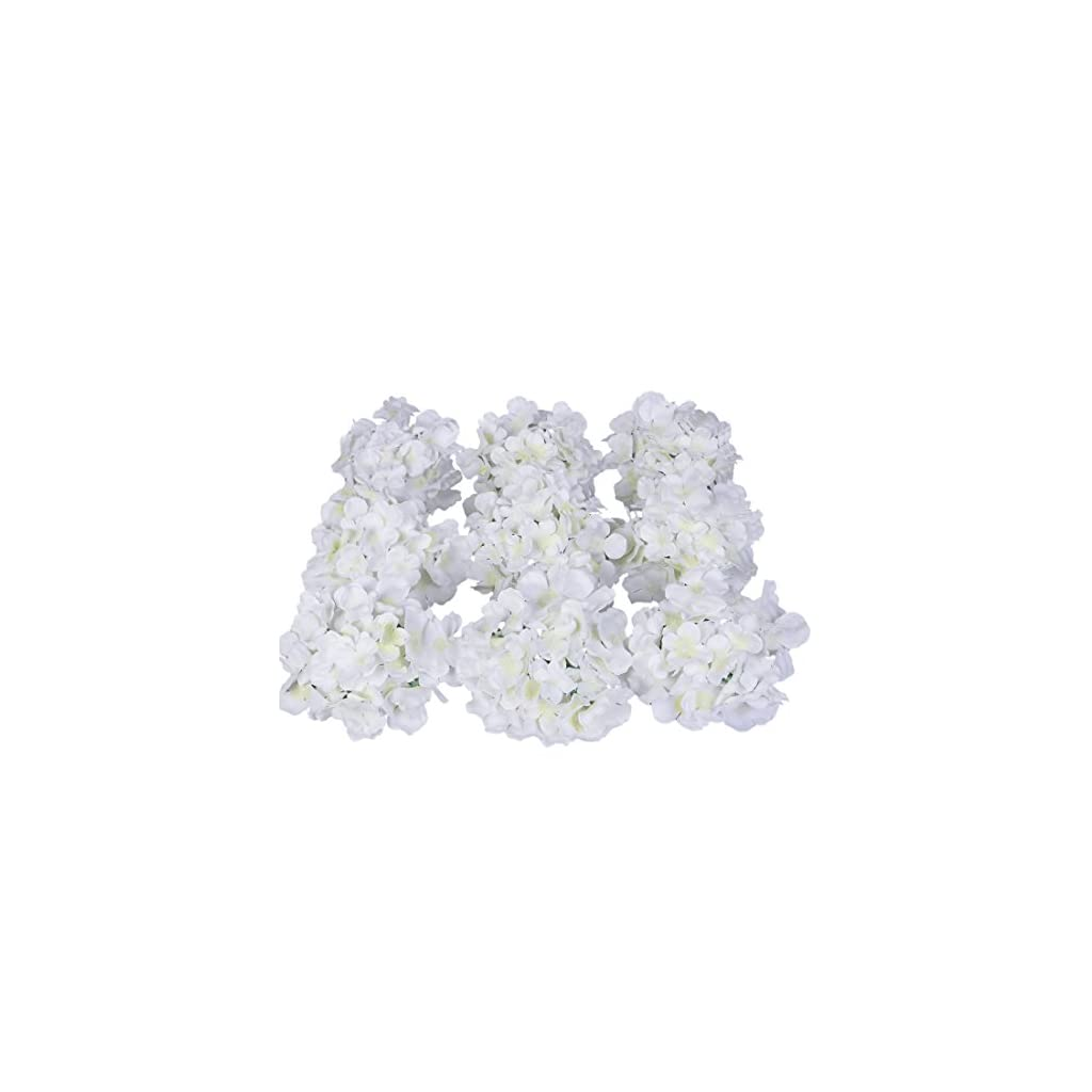 Luyue-Silk-Hydrangea-Heads-Artificial-Decoration-Flowers-Garden-Floral-DecorPack-of-10
