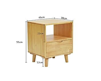 Wunderbar Flashing DIY Einfache Und Moderne Massivholz Nachttisch Schrank Kiefer Mini  Kindersicherung Schließfach, Schlafzimmer Nachttisch