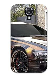 Snap-on Case Designed For Galaxy S4- Bmw