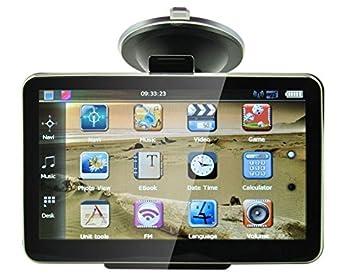 Tom 4.3 coche GPS Sistema de navegación Tom FM Poi libre ...