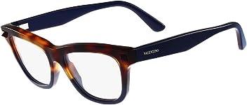 Valentino V2686-217-52 Ladies V2686 Havana Blue Eyeglasses