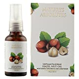 Nature's Absolutes Coldpressed organic Hazelnut Oil - 1oz/30 ml For Skin, Face and Hair