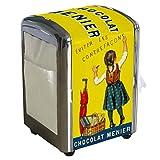 chocolat dispenser - Chocolat Menier paper towel dispenser by Gourmandise