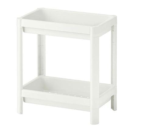 IKEA VESKEN 4 estantería blanca 36 x 23 x 40 cm