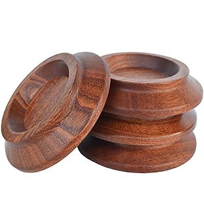 Upright Piano Caster Cups ,Solid Wood Furniture,Piano Caster Cups - Non-Slip & Anti-Noise Foam