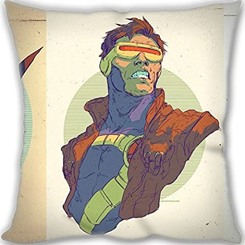 X-Men Throw Pillow Decorative Cushion Cover Home Sofa Bed Leaning Pillow 30x30cm(12x12inch) Mini Children Size 190g(0.42lb) (Pillow inner is (Xmen Bed Cover)