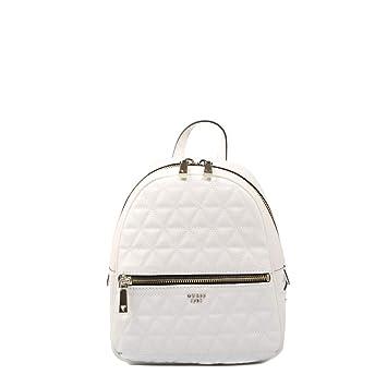 Guess, TABBI BACKPACK WHITE HWSG71 81320, mochila blanca para mujer: Amazon.es: Electrónica