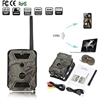 Hillside Fire SMS/MMS/GPRS/SMTP/FTP Scouting Wildlife Hunting 12MP HD Digital Camera Trail Game 940nm IR LED Video Recorder Rain-proof