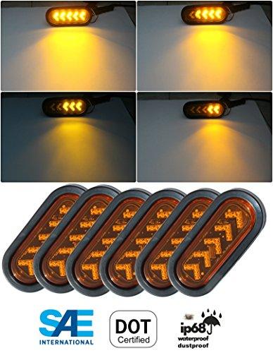 Oblong Pack - Blingbling Pack of 6 LED Sealed 6 7/16