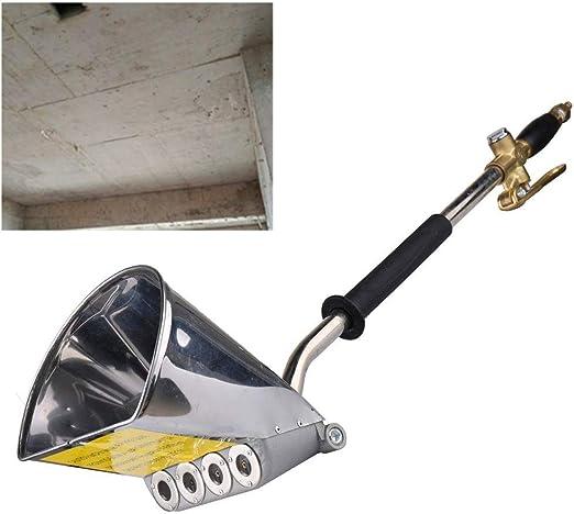 VEVOR 4 Chorro de Cemento Pulverizador de Mortero Pistola de Pulverizaci/ón de Estuco Pintura de Pared Herramienta de Hormig/ón