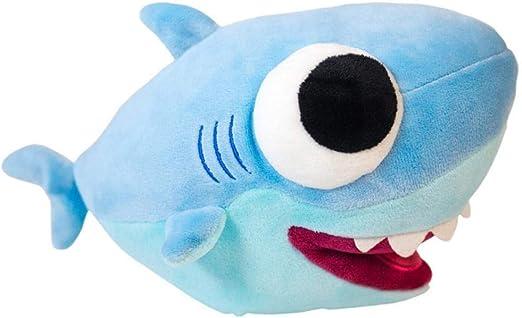 NIANMEI Música Ojos Grandes Tiburón Suave Juguete de Peluche Bebé ...