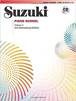 Suzuki Piano School, Vol 5: Book & CD (Suzuki Method Core Materials) by Seizo Azuma (2009-01-15)