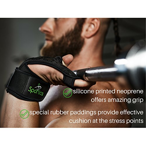 Crossfit-Weight-Lifting-Gloves-with-Wrist-Support-for-Gym-Workout-Cross-Training-Fitness-WOD-Pull-Ups-Weightlifting-Strong-Grip-Full-Palm-Protection-Wrist-Wraps-Suitable-for-both-MenWomen