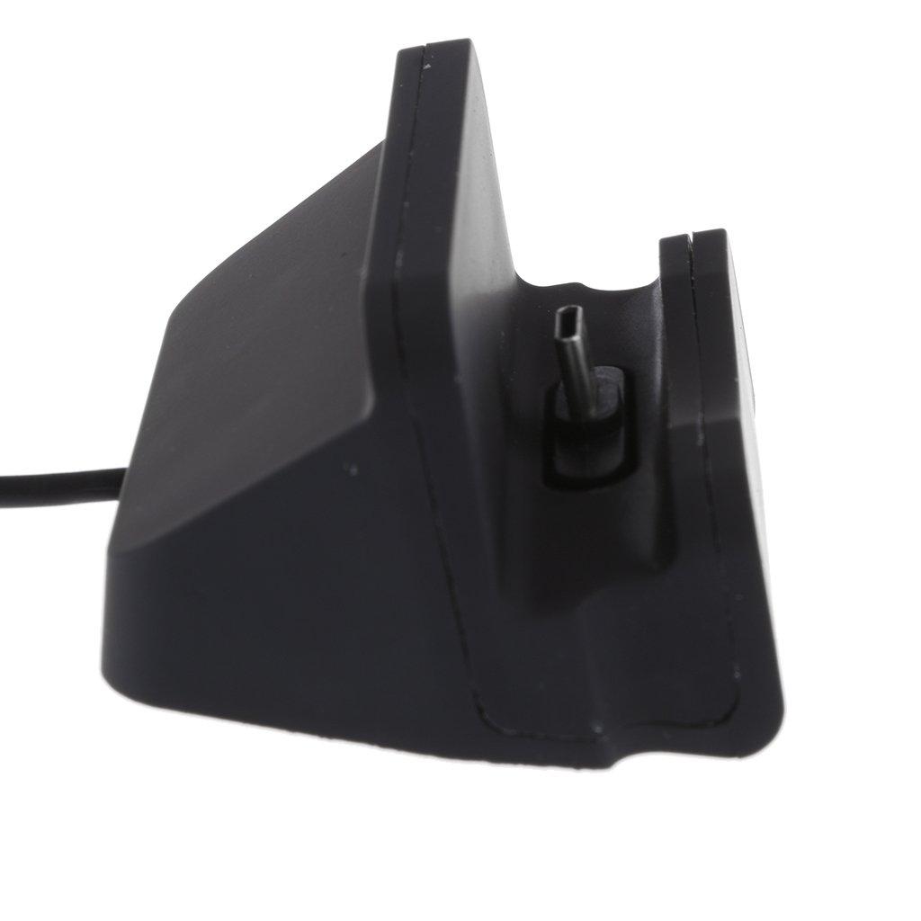 Negro Sharplace USB-C Tipo C Conector Cargador Dock Cradle Soporte de Escritorio para Samsung