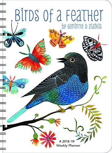 Geninne Zlatkis 2018 – 2019 On-the-Go Weekly Planner: 17-Month Calendar with Pocket (Aug 2018 – Dec 2019, 5 x 7 closed)