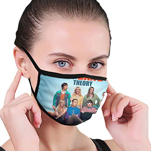 Dean Carnegie The B_ig Ba_ng The_ory Face Mask Adjustable Mouth Mask Anti Dust Face Mouth Mask Reusable Mask for Cycling Camping Travel