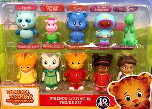 Exclusive Figure Set (Daniel Tiger's Neighborhood - Friends & Stuffies exclusive figure set 10 piece)
