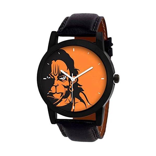 Shunya Alkh Analogue Hanuman Multicolour Dial Men's Watch
