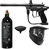 Spyder Victor Paintball Marker 3Skull Gun Package - Black