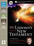 img - for NIV, Listener's Audio Bible, New Testament, Audio CD: Vocal Performance by Max McLean book / textbook / text book