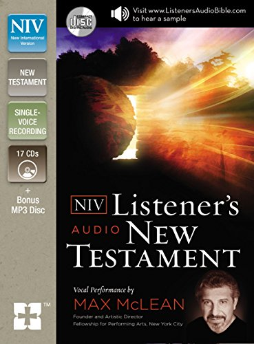 NIV, Listener's Audio Bible, New Testament, Audio CD: Vocal Performance by Max McLean