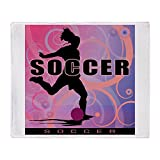 CafePress - 2011 Girls Soccer 2 - Soft Fleece Throw Blanket, 50''x60'' Stadium Blanket