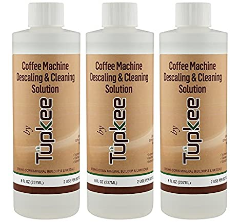Descaling Solution Coffee Maker Cleaner – Universal Descaler for Keurig, Nespresso, Delonghi, Ninja and All Single Use Coffee and Espresso Machines – ...