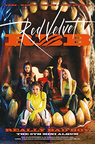 RED Velvet - [RBB] 5th MiniAlbum Music CD + Photo Book + PhotoCard + Folded Poster + Extra Photocards Set
