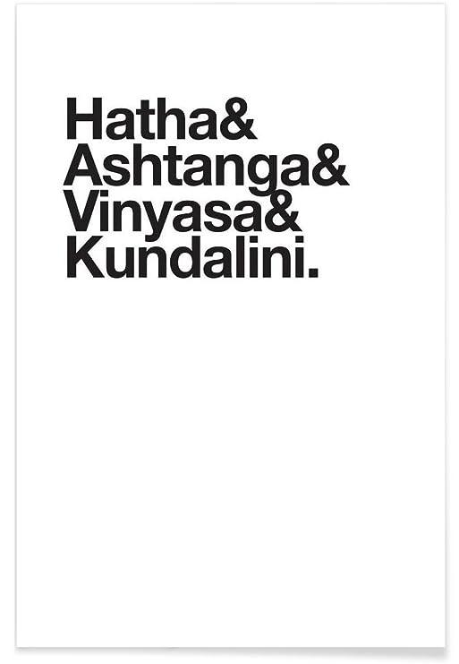 Juniqe® Poster 120x180cm Black & White Typography & Symbols ...