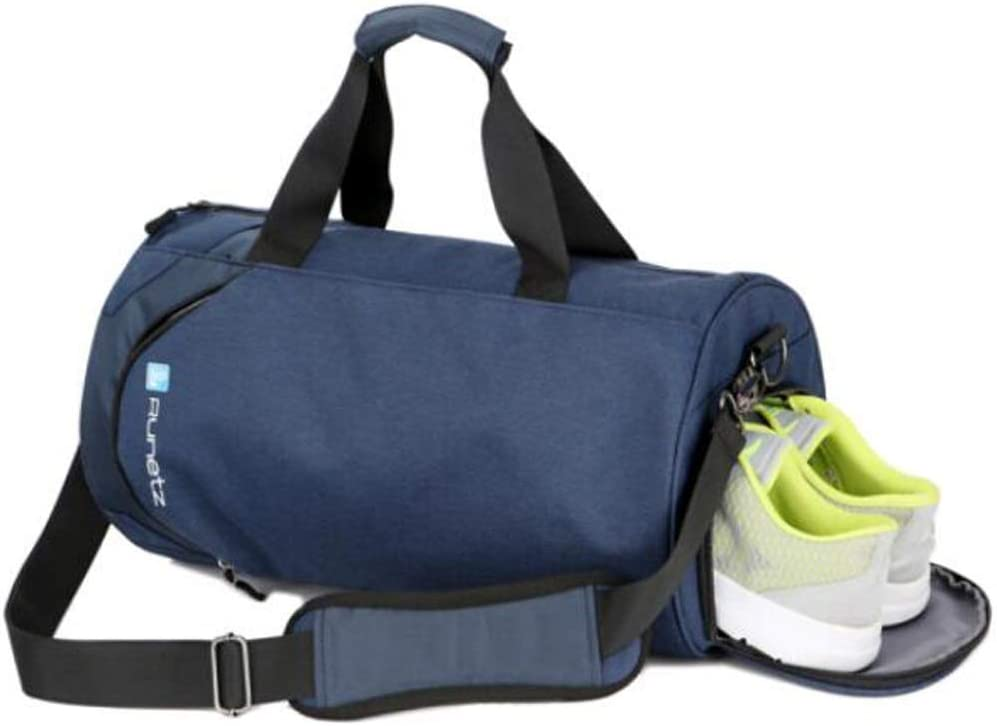 Waterproof Large-Capacity Fitness Bag Male Waterproof Training Bag Sports Bag Large Size: 432424cm Wet and Dry Separation Large-Capacity One-Shoulder Mobile Travel Backpack