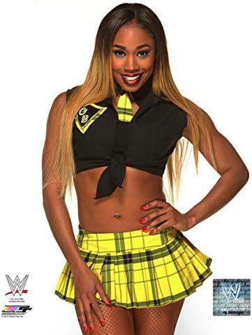 Size: 8 x 10 WWE Cameron Lynn 2015 Posed Studio Photo