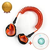 Elecplay Baby Child Anti Lost Wrist Link Safety 360° Breathable Wrist Link 72inch (Orange)
