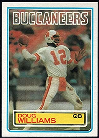 size 40 1a188 0253c Amazon.com: Football NFL 1983 Topps #185 Doug Williams DP ...