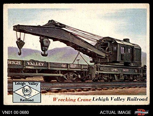 1955 Topps Rails & Sails # 73 Wrecking Crane (Card) Dean's Cards 5 - EX ()