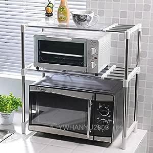 DiscountSeller - Estante extensible para horno de microondas con ...