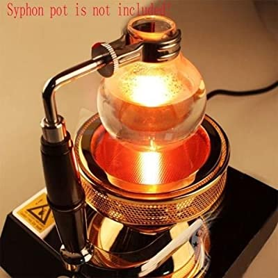 TOPCHANCES 220V Halogen Beam Heater Burner Infrared Heat for Hario Yama Syphon Coffee Maker