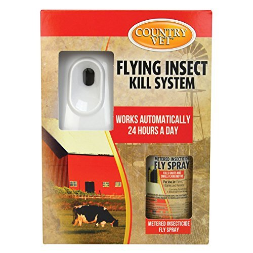 AMREP 073992 2 Piece Country Vet Equine Automatic Flying Insect Control Kit by AMREP