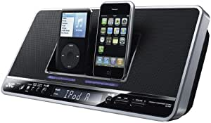 JVC NXPN7 Portable Audio System with Dual iPod Dock (Discontinued by Manufacturer)