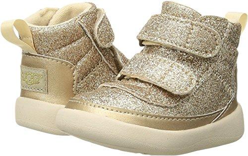 UGG Girls I Pritchard Sparkles Sneaker, Gold, 0-1 M US Infant ()
