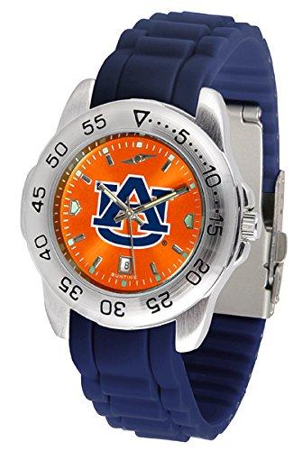 Auburn Tigers Sport Silicone Men's Watch ()